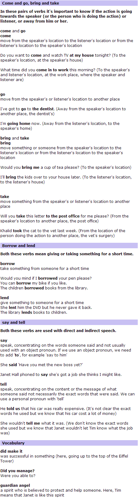 BBC World Service   Learning English   The Flatmates   Language Point 110(3)
