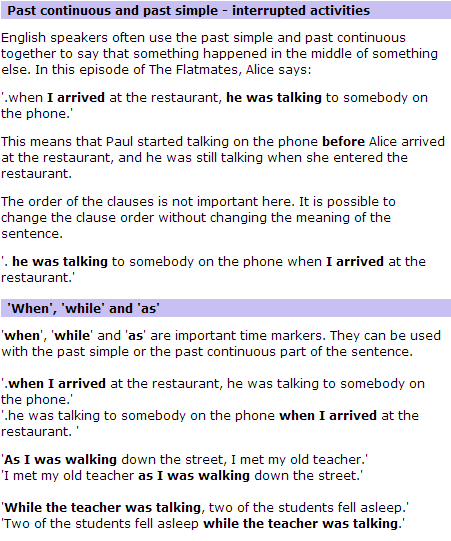 BBC World Service   Learning English   The Flatmates   Language Point 70(3)