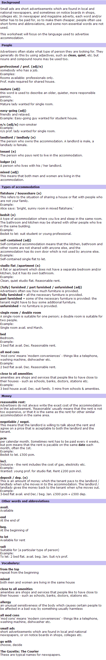 BBC World Service   Learning English   The Flatmates   Language Point 77(3)